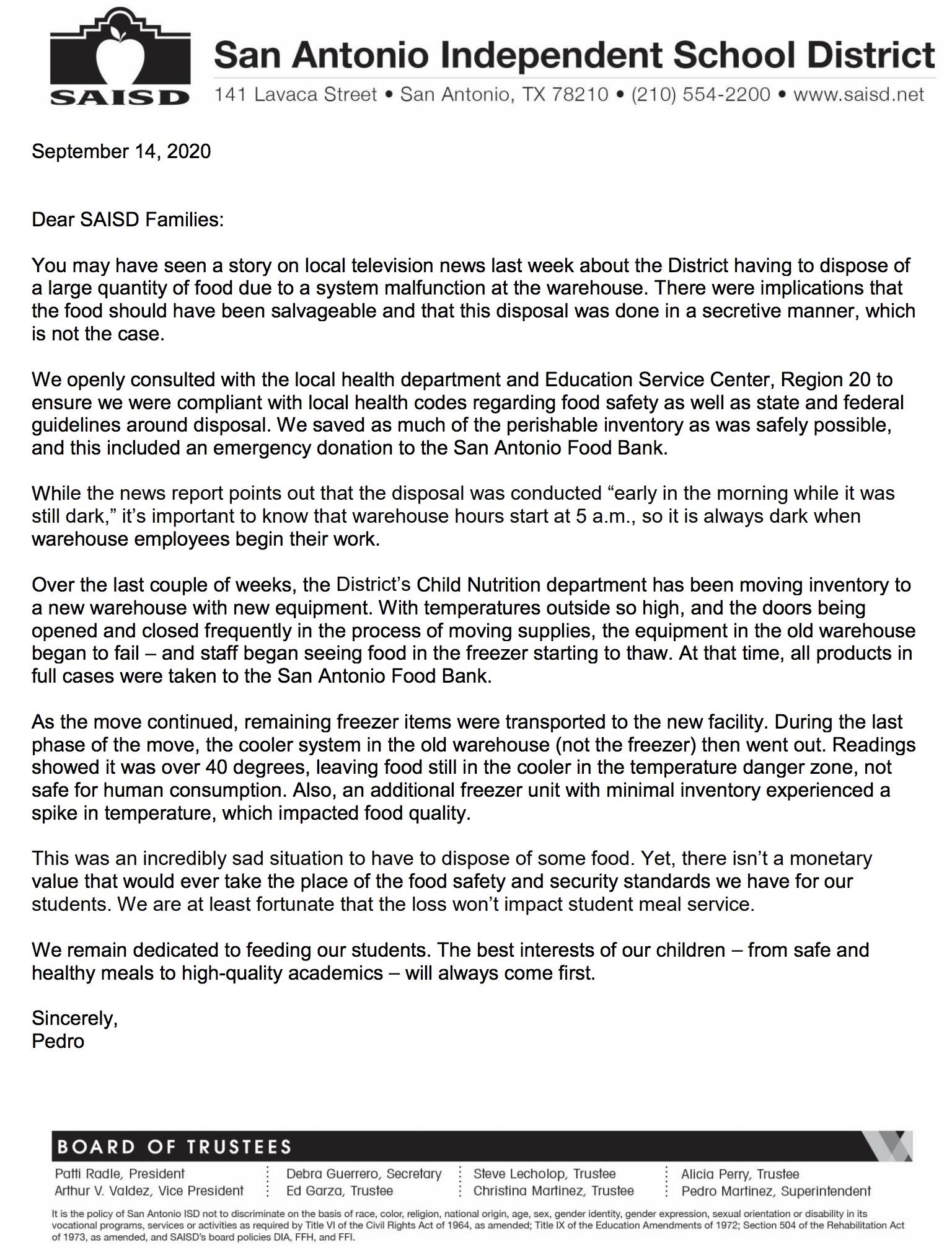 parent letter 9.14.2020 ENG