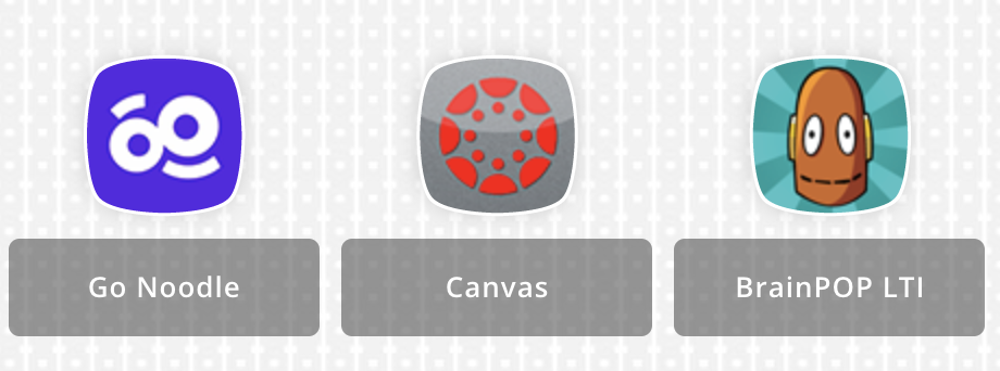 Canvas Picture: Go Noodle, Canvas, BrainPop LT1