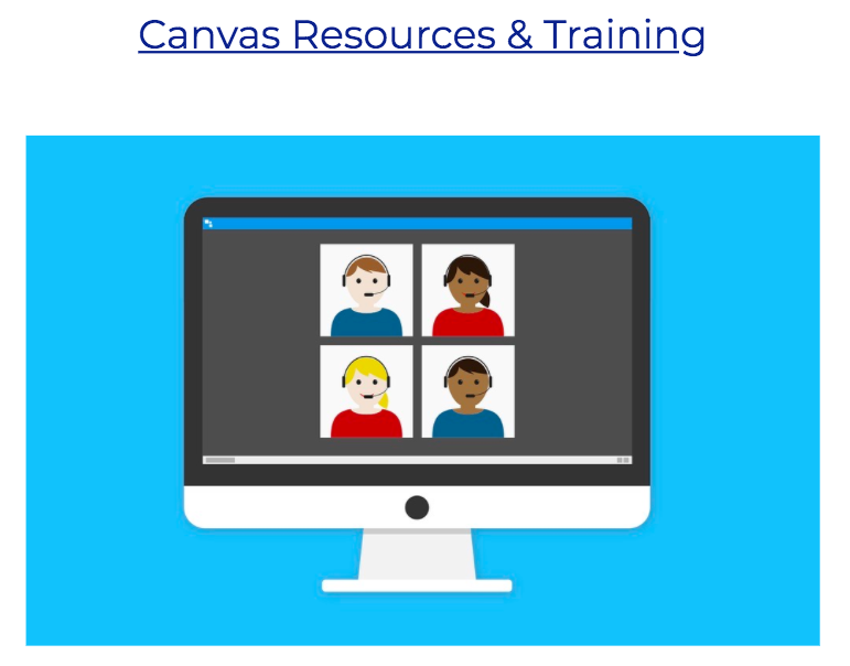Canvas Resources and training.