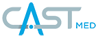 Cast footer logo