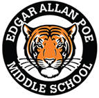 Edgar Allen Poe Middle School Logo