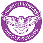 Harry H Rogers Middle School Logo
