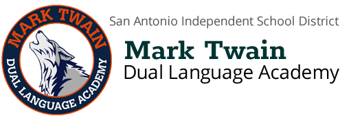 MArk Twain Dual LAnguage Academy Logo